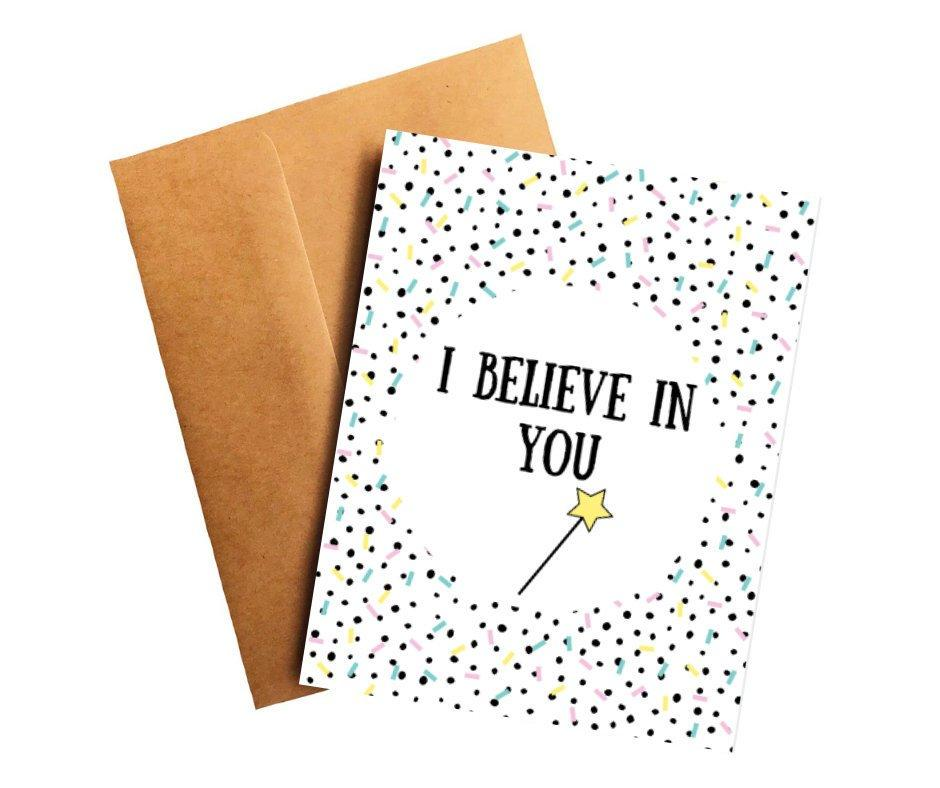I Believe in You Encouragement Card Better and Co.