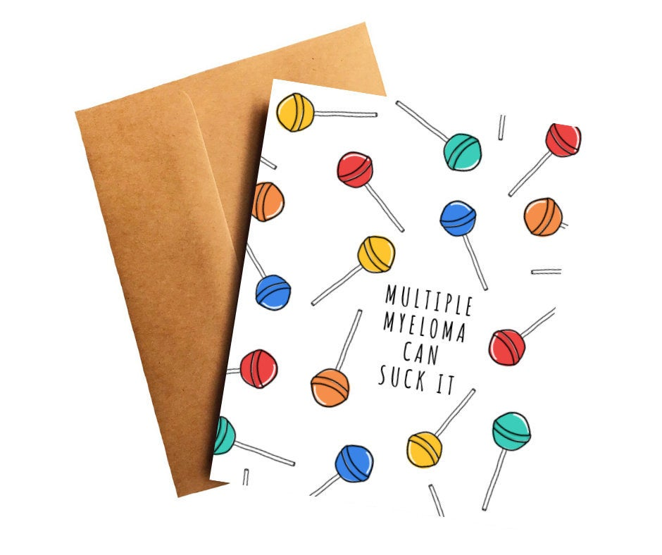 Multiple Myeloma Get Well Card