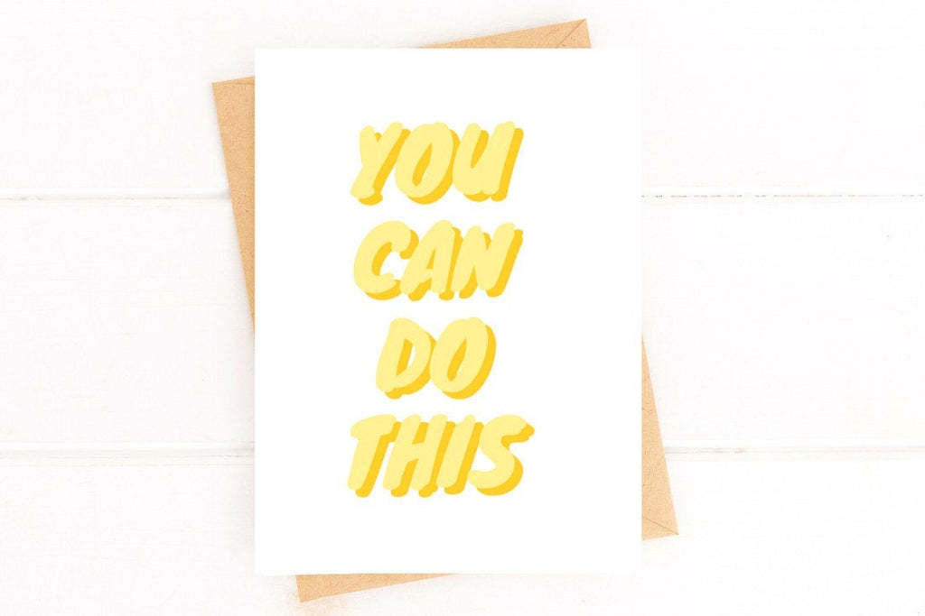 You Can Do This Encouragement Card