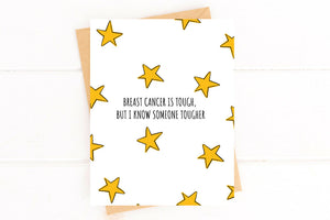 Breast Cancer is Tough Get Well Card
