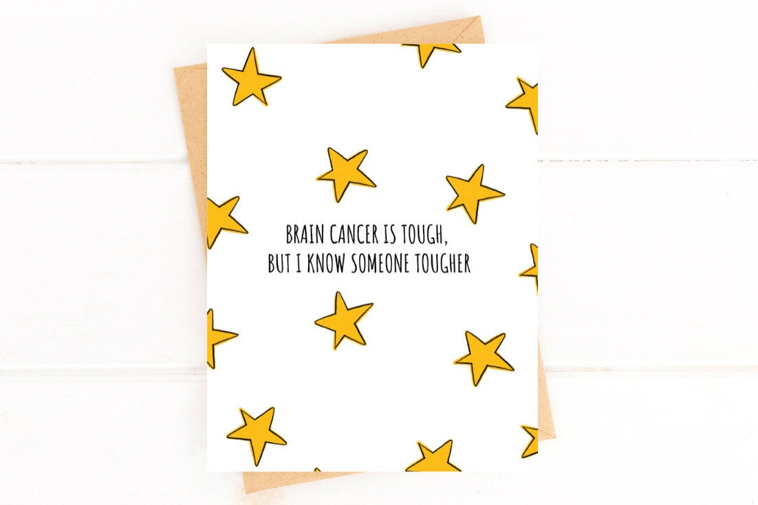 Brain Cancer Get Well Card