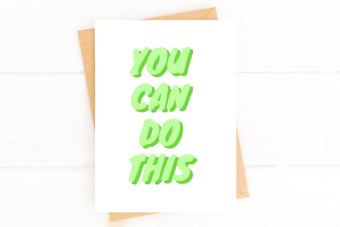 You Can Do This Card Cancer Support Card