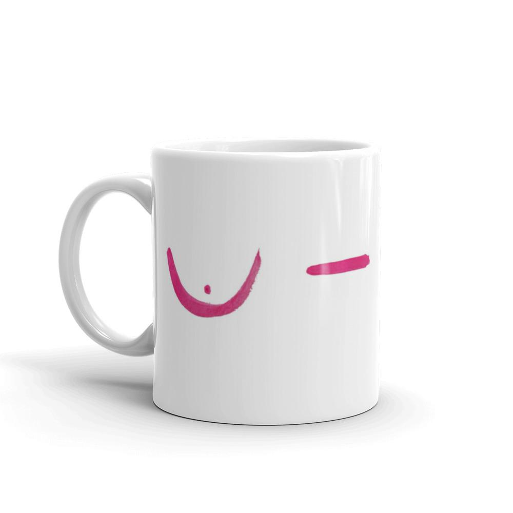 Mastectomy Breast Cancer Mug Better and Co.