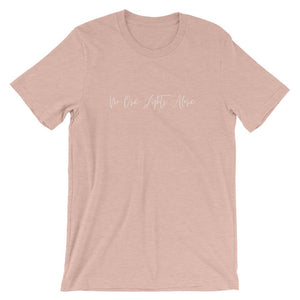No One Fights Alone Shirt Better and Co. Heather Prism Peach S