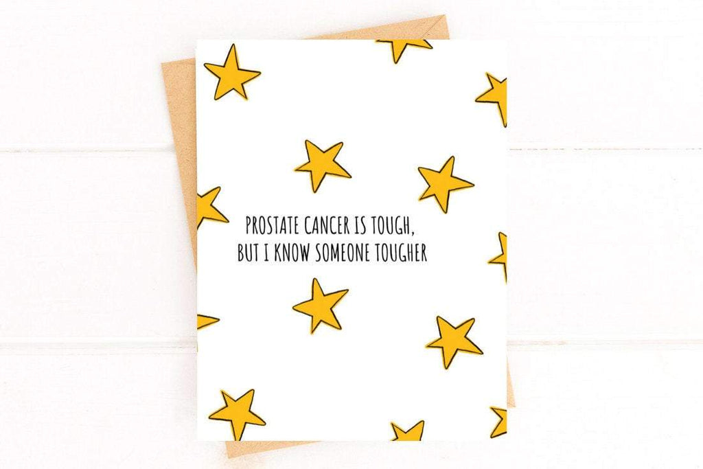 Prostate is Tough Cancer Get Well Card Better and Co.