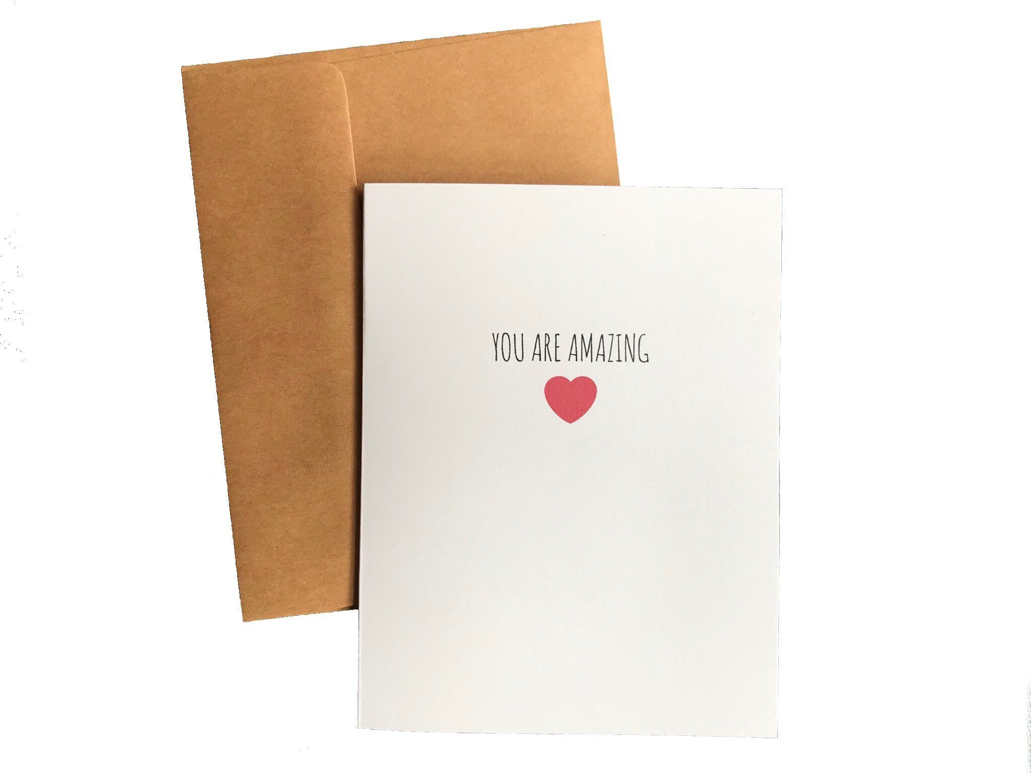 You Are Amazing Card Encouragement Card Better and Co.