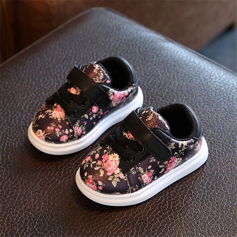 Cute Flower Baby Girls Shoes – squiddlys