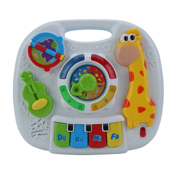 Music Table Toy Explore Activity Game Table Baby Learning Toys