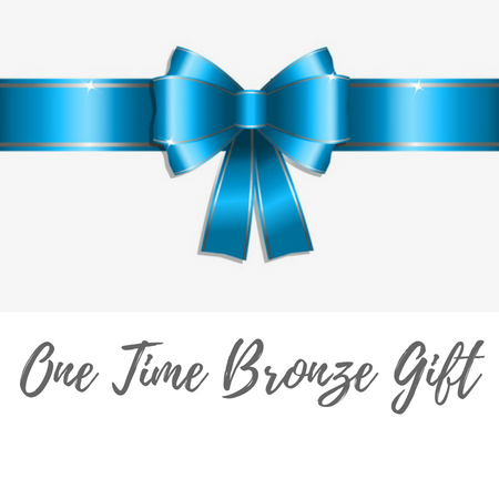 One Time Bronze Gift