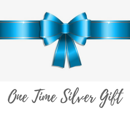 One Time Silver Gift