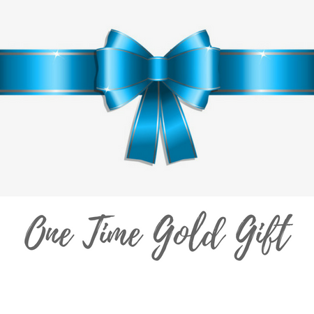 One Time Gold Gift