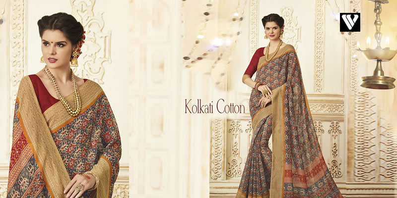Cotton Printed Sarees Online