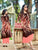 Digtal Print Peach and Brown Long Kurtis