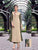 Latest Designer Embroidered Beige & Mehndi Color Pattern Long Kurtis