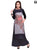 Designer Digital Print Grey Long Kurtis