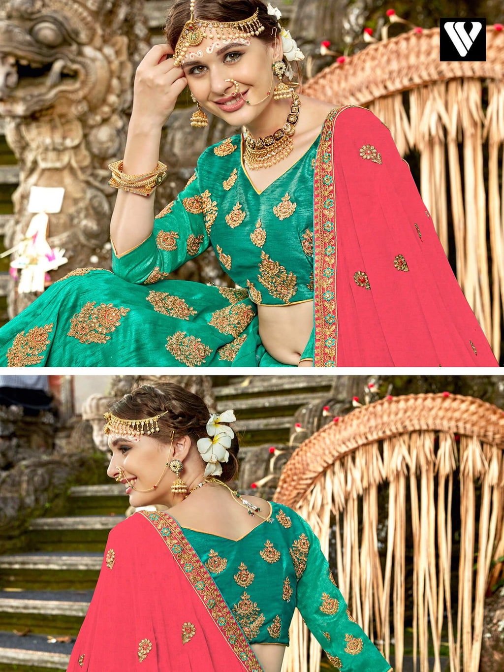 Lavish Raw Silk Zari Work Lehenga Choli