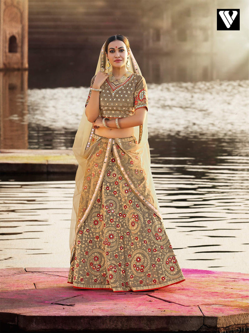 Maharani Style Designer Bridal Collection Wedding Lehenga