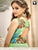 Designer Green Fancy Digital Print Work Readymade Party Gown