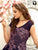 Designer Purple Fancy Embroidery Readymade Party Gown