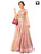 Adorning Pink Colored Stone Work Readymade Gown