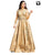 Elegant Beige Color with Hand Work Readymade Gown