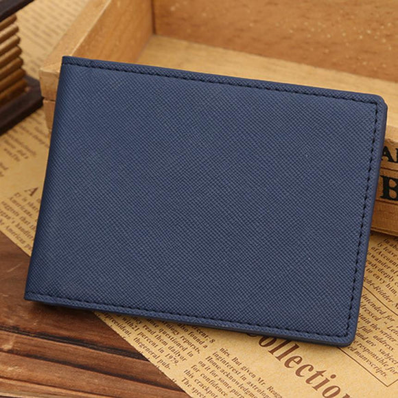 PU Leather Short Slim Wallet - Marvelous Emporium