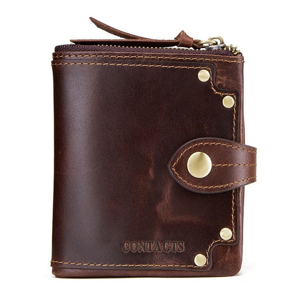 Cowhide Leather Wallets - Marvelous Emporium