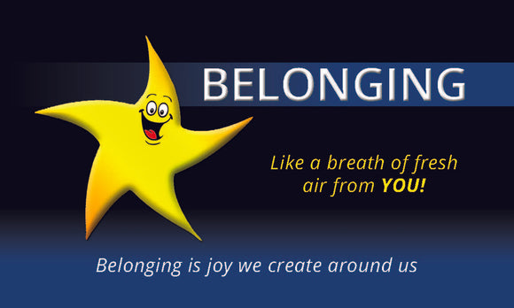 Belonging Star Card (500)