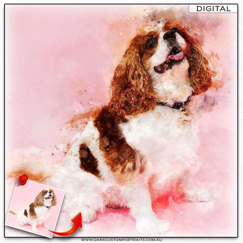 Dans Custom Portraits All Reviews People Pet Portraits