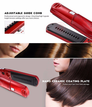 Multi-Functional Steam and Hair Straightener