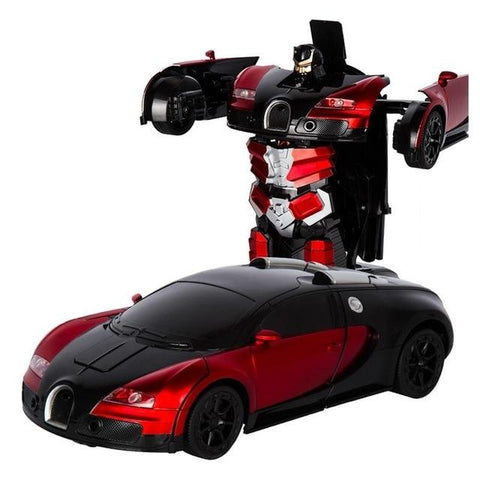 Image of No Touch Robot Car Transforming Toy