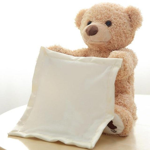 Peek A Boo Plush Teddy Bear