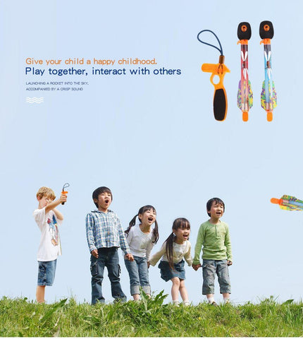 Rocketzz™ Flying Rocket Toy