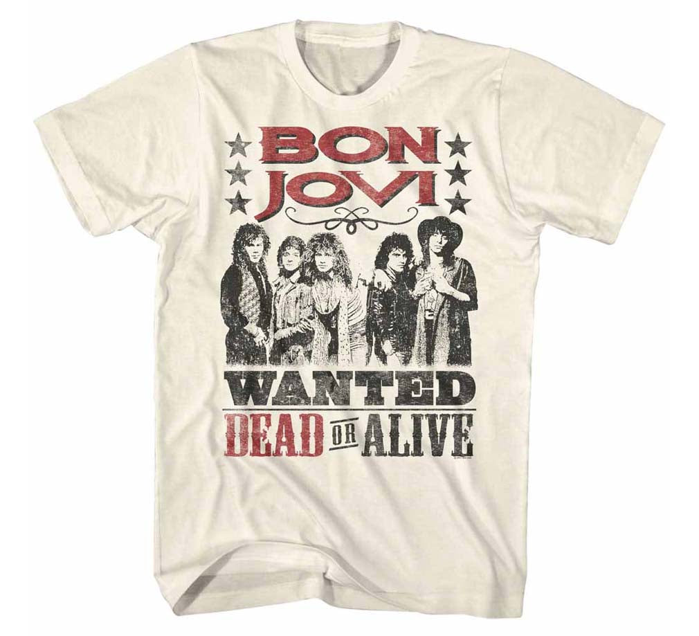 Bon Jovi Dead or Alive T-Shirt - T-Shirt Tickles