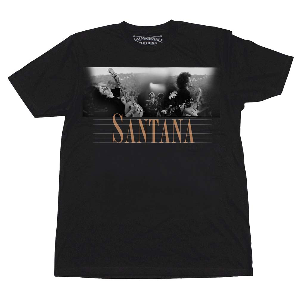 Carlos Santana Here and Then T-Shirt - T-Shirt Tickles