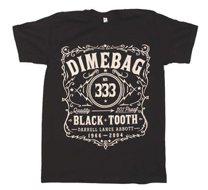 Dimebag Darrell Whiskey Dimebag T-Shirt - T-Shirt Tickles