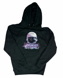 Avenged Sevenfold AVS Spacehelmet Hoodie Sweatshirt - T-Shirt Tickles