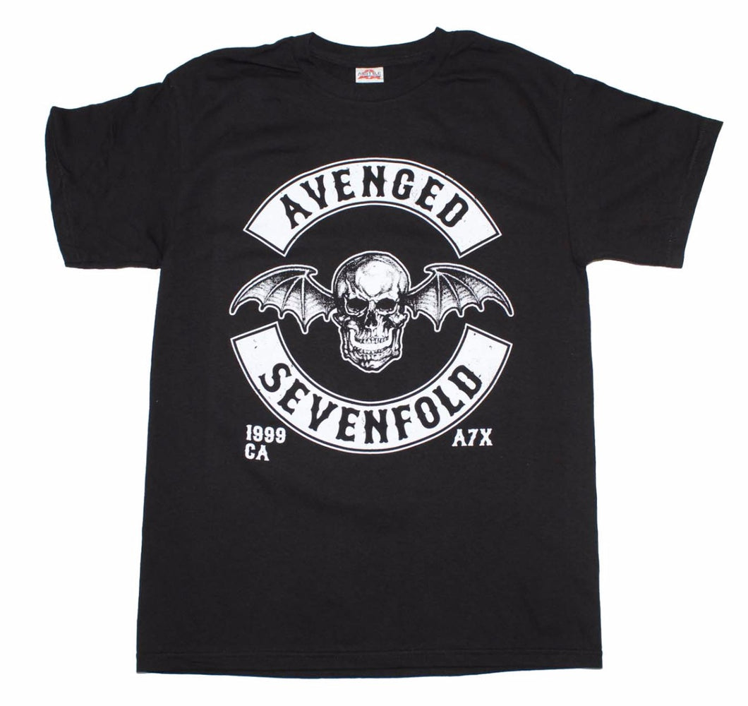 Avenged Sevenfold Deathbat Crest T-Shirt - T-Shirt Tickles