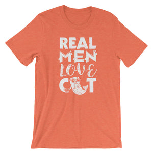Real Men Love Catfish Short-Sleeve Unisex T-Shirt - T-Shirt Tickles