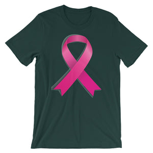 Breast Cancer Awareness Short-Sleeve Unisex T-Shirt - T-Shirt Tickles