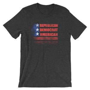 American Pride Short-Sleeve Unisex T-Shirt - T-Shirt Tickles