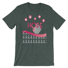 Hope For A Cure For Breast Cancer Short-Sleeve Unisex T-Shirt - T-Shirt Tickles