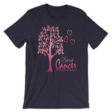 Fight For A Cure For Breast Cancer Short-Sleeve Unisex T-Shirt - T-Shirt Tickles