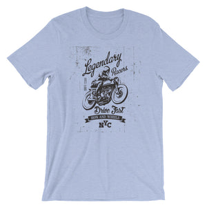 Motorcycle Motorbike Short-Sleeve Unisex T-Shirt - T-Shirt Tickles