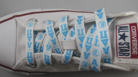 ALPHA DELTA PI SHOELACES