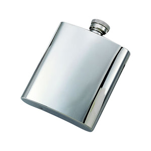 STAINLESS STEEL FLASK 8OZ