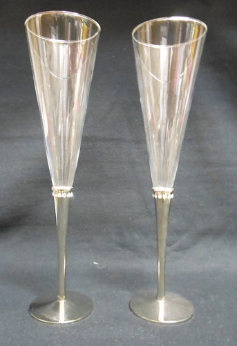 11 INCH FLUTE WITH CRYSTAL SET