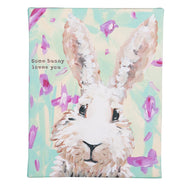 SOME BUNNY LOVES YOU CANVAS