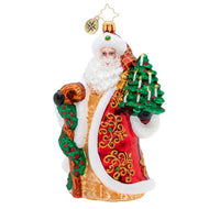 MAGNIFICENT SANTA RADKO ORNAMENT