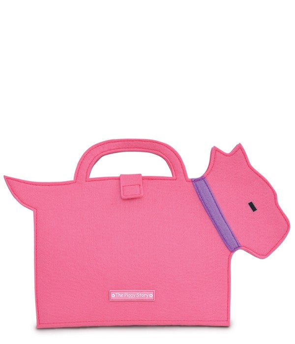 ARTFOLIO SCOTTIE DOG PINK